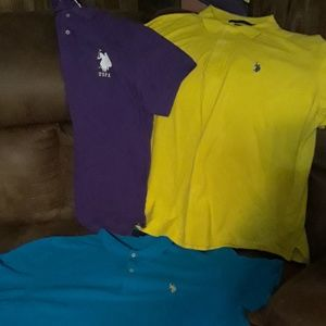 Other - Lot of 3 u.s.polo association 2x shirts